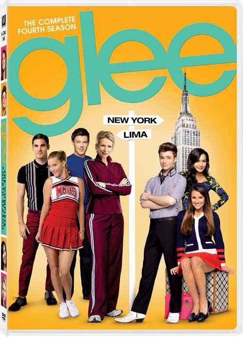 Glee Season 4 DVD