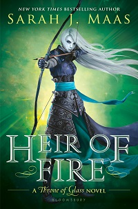 Throne of Glass Heir of Fire Sarah J Maas Young Adult fantasy young-adults.nl