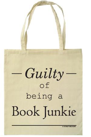 Guilty of being a book junkie – tas
