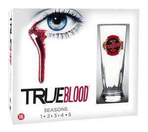 True Blood - Seizoen 1-5 (Inclusief True Blood Glas)