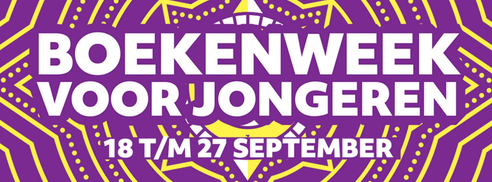 Logo Boekenweek voor Jongeren
