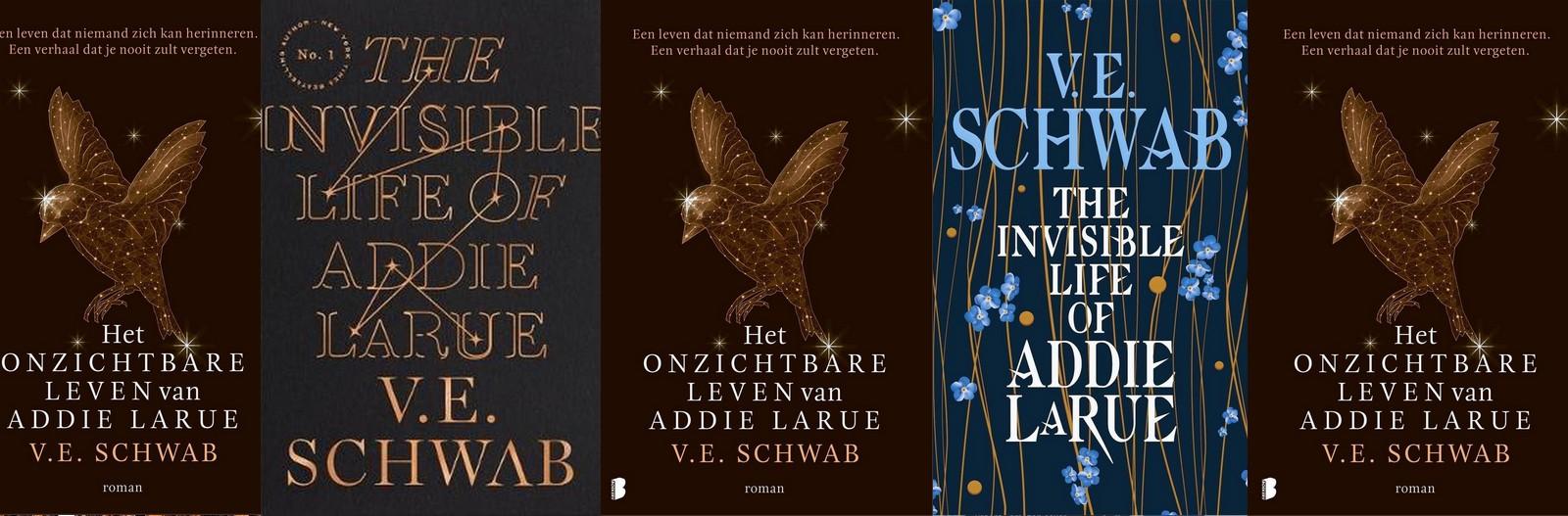 Covers Het onzichtbare leven van Addie Larue